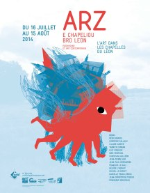 Art et Chapelles du Leon - Poster Collective